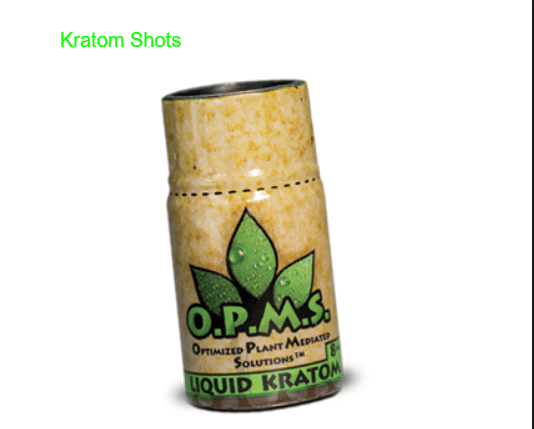 Kratom Shots | Ultimate guide of making & usage of Kratom