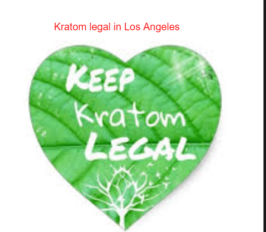 Kratom legal in Los Angeles